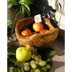 Coupe a fruits rutique diam. 26 cm env.